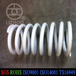 White Color Coating Music Wire Compression Spring pictures & photos