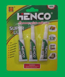 3gram Super Glue in Aluminum Tube 3PCS Per Card pictures & photos