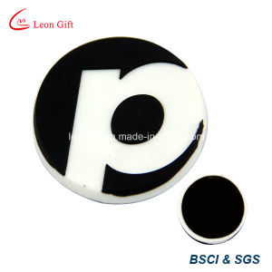 Customized 3D Football Shape PVC Magnet pictures & photos