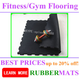 Heavy Duty Rubber Gym Vinyl Flooring for Gym pictures & photos