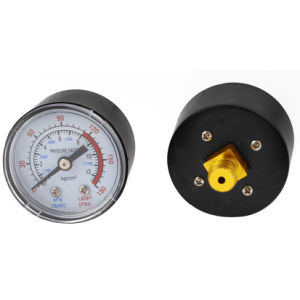 "Compressor Pressure Gauge 1/4"" 1/8"" pictures & photos"