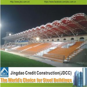 High-Quality Steel Structure Prefabricated Stadium Building pictures & photos