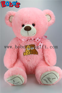 Newest Christening Gifts Pink Giant Teddy Bears with Embroidery Chest and Paw pictures & photos