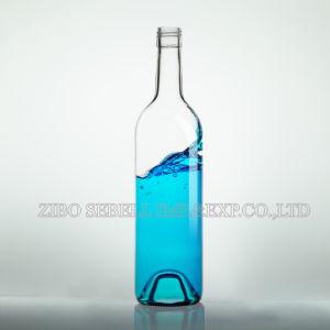 Shandong Glass Flint 750ml Bordeaux Glass Wine Bottle (08-glass bottle) pictures & photos