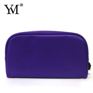Best Selling Good Quality Promotional Purple Nylon Cosmetic Pouch pictures & photos