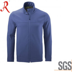 Newest Men′s Water Resistant and Breathable Softshell Jacket (QF-4119) pictures & photos