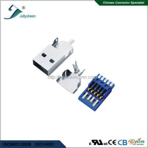 USB3.0 a/M 3 in 1 Soldering Type pictures & photos