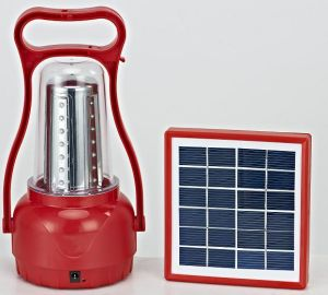 Portable LED Camping Lantern with Solar Panel pictures & photos