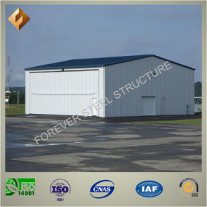 Low Cost and Moveable Prefab Steel Structure Aircraft Hanger