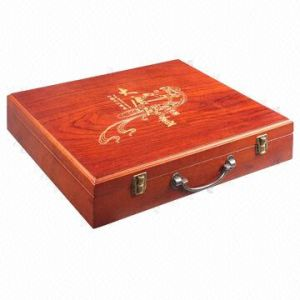 Solid Wood Tool Storage Box for Precision Instruments pictures & photos
