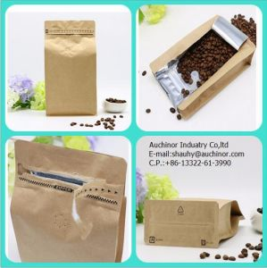 Coffee Bag with Valve / Zip Lock Bag / Coffee Packaging pictures & photos
