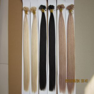 Italian Keratin Pre-Bonded U Tip Nail Hair Extension pictures & photos