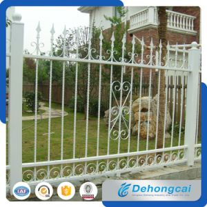 Customized Elegant Hot Sales Wrought Iron Security Fence with Galvanized pictures & photos