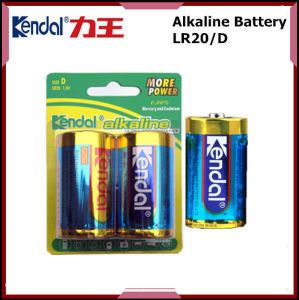 Dry Alkaline Cell Lr20 D Size Battery 1.5V pictures & photos
