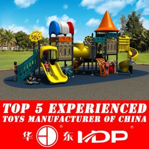 2017 Plastic Slide Type Outdoor Amusement Equipment Toys (HD14-105A) pictures & photos