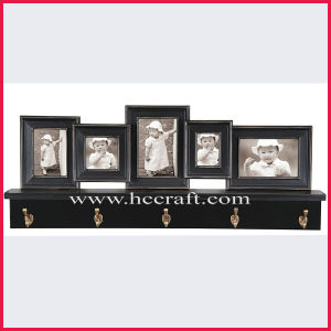 Distressed Multiple Opening Wooden Photo Frame for Home Decoration pictures & photos