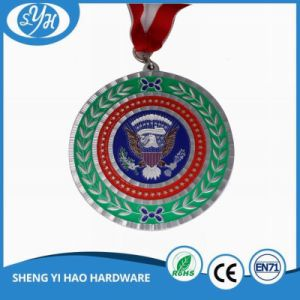 2017 Customized Round Soft Enamel Big Medal for Souvenir pictures & photos