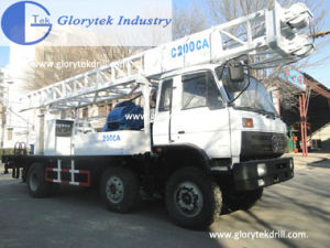 Durable C200ca Truck Mounted Water Well Drilling Rig pictures & photos