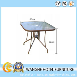 Furniture Stainless Steel Frame Glass Coffee Table Side Table pictures & photos