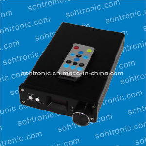 Sta326 OLED 2.0 Channel Amplifier USB Fiber Coaxial Amplifier pictures & photos