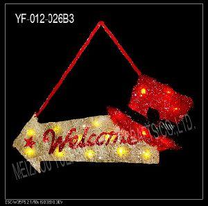 Christmas Letter Brand (YF-012-026B3)