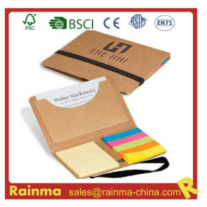 Eco Memo Pad with Name Card Pocket pictures & photos