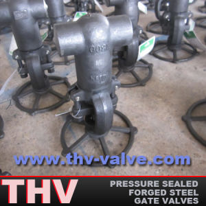 Butt-Welded End Pressure Sealed Forged Steel Gate Valve