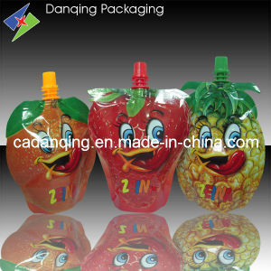 Fruit Shape Stand up Pouch with Spout pictures & photos