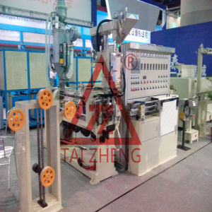 PVC Cable Co-Rotating Extrusion Machine pictures & photos