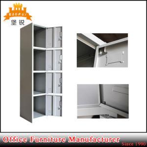 Knock Down Structure Cheap Steel 4 Door Locker Storage Cabinet pictures & photos