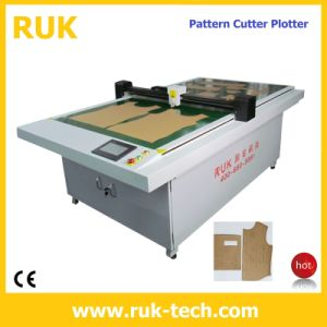 CNC Automatic Cutting Machine (Sewing Machine CAD CAM Flatbed Cutter Plotter Template Pattern PVC Acrylic Sample Maker Cutting Machine)