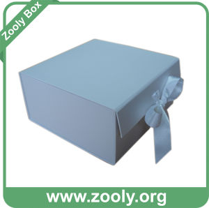 Large Plain White Cardboard Paper Foldable Gift Box pictures & photos