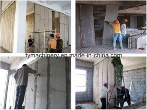 Concrete Wall Panel Making Machine/EPS Sandwich Wall Panel Machine pictures & photos