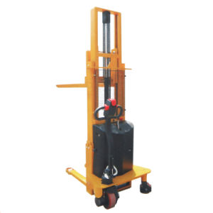 Semi-Electric Stacker with CE Certificate pictures & photos