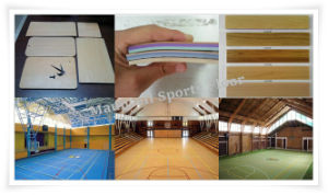 Olympic Games Standard for Basketball PVC Floor pictures & photos