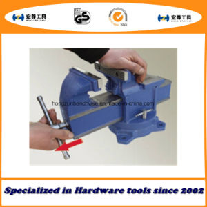Quick-Release Bench Vise Fixed with Anvil Type pictures & photos