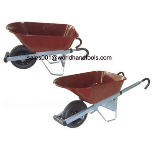 Wbzd08 with Hook Handle Wheelbarrow pictures & photos