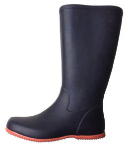 Thin Rubber Boots for Ladies pictures & photos