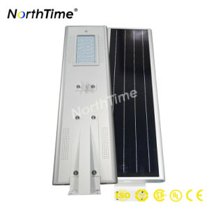 Solar Powered LED Street Outoor Light with Motion Sensor PIR pictures & photos