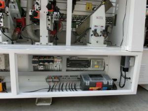 Fine Trimming Rough Trimming Automatic PVC Edge Banding Machine Price (SE-360D) pictures & photos