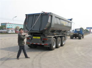 Hyva Lifting Tipping Semi Trailer pictures & photos