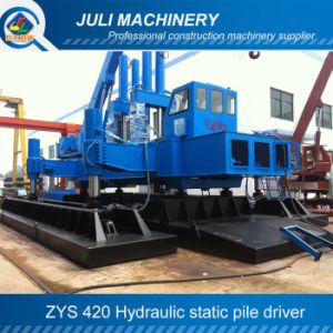 Zys 420 Hydraulic Static Pile Driver, Hydralic Pile Pressing Machine, 420 Pile Driver