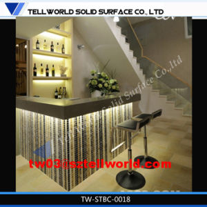 Bar Counter with LED Light for Restaurant Modern Design pictures & photos