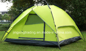 Durable Double-Skin Automatic Camping Tent for 3 - 4 Persons (JX-CT031-1) pictures & photos