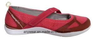 Women Comfort Slip-on Walking Shoes (515-2730) pictures & photos