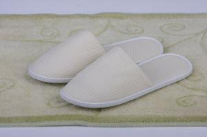 Light Cream Close Toe Slipper