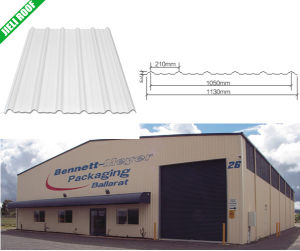 PVC Roof Tile Coated PMMA pictures & photos