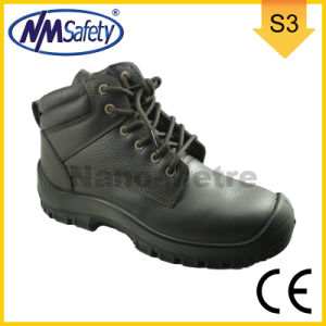 Nmsafety Cow Grain All Leather Work Shoes pictures & photos