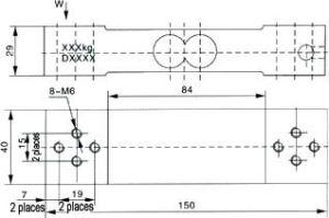 Zemic Miniature Sensors dB-2 350kg pictures & photos
