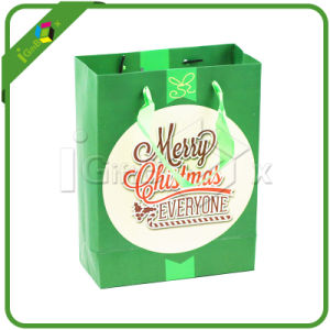 Fancy Christmas Paper Gift Bags with Handles pictures & photos